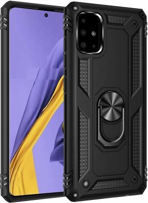 kinshu Back Cover for SAMSUNG A51(Black, Hard Case)