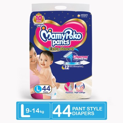 MamyPoko Pants Extra Absorb Diapers   L   44 Pieces