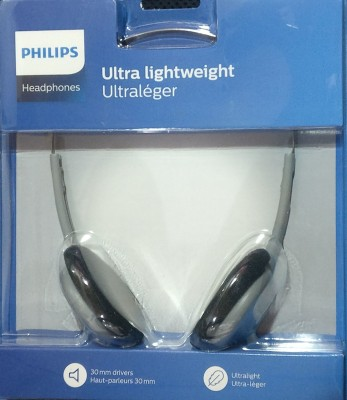 Philips SBCHL140/10 Wired Headset without Mic(Graphite, Wired over the head)