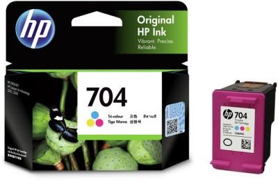 HP 704 Tri Color Ink Cartridge HP Ink Cartridges