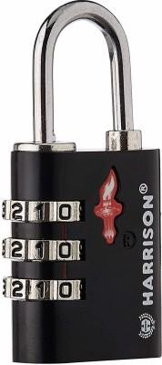Harrison Iron Luggage Padlock Padlock(Black)