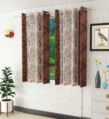 Panipat Textile Hub 152 cm (5 ft) Polyester Window Curtain (Pack Of...