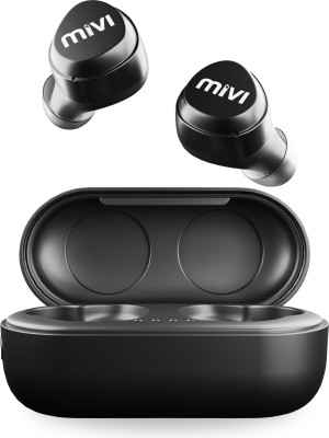 Mivi DuoPods M20 True Wireless Bluetooth Headset(Black, In the Ear)