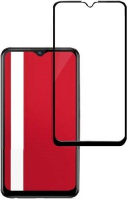DOLEVAS Tempered Glass Guard for top model Vivo U10(Pack of 1)