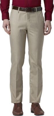 Park Avenue Slim Fit Men Brown Trousers