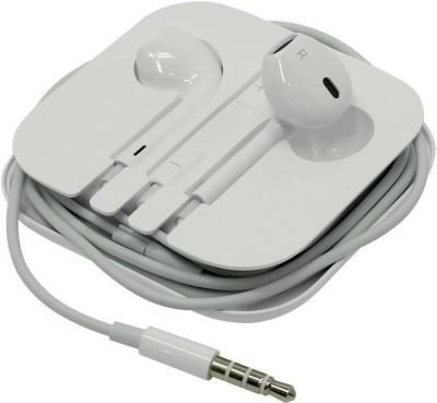 AUDONIC Handsfree For I_phone 4/4s/5/5s/5c/6/6s/6+/7/7+/8+/X Ipad Ipod Wired Headset(White, Wired in the ear)