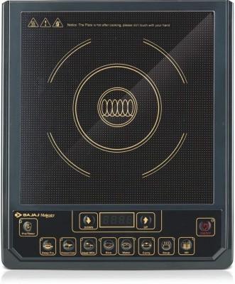 BAJAJ Majesty ICX 3 1400-Watt Induction Induction Cooktop(Black, Push Button)