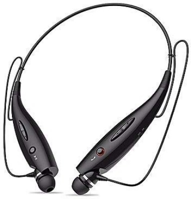 Brown Bee HBS/730 Rich Bass Wireless Magnet Bluetooth Headset With MIC Bluetooth Headset(Black, In the Ear)