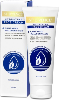 ST. D'VENCÉ Ultra Hydrating Plant Based Hyaluronic Acid Face Cream - 100ml(100 ml)