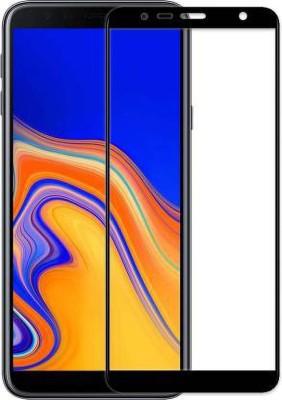 Ravbelli Edge To Edge Tempered Glass for Samsung J4 Plus(Pack of 1)