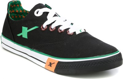 SPARX Sneakers For Men Black, Green SPARX Casual Shoes