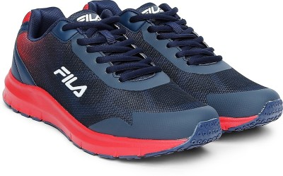 Fila LORAX Running Shoes For Men(Navy, Red)