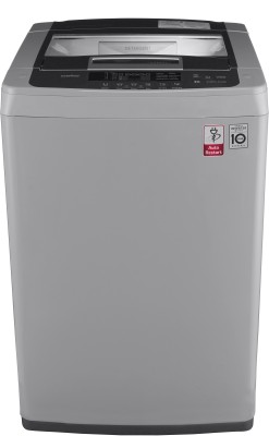 LG 7 kg Inverter Fully Automatic Top Load Grey(T8069NEDLH)
