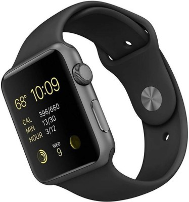 MOBIMOX Bluetooth phone Smartwatch Smartwatch(Black Strap, free)