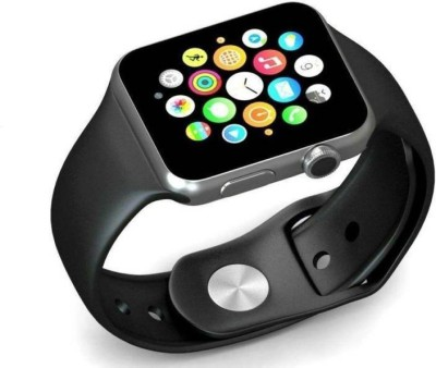 Hoover A1 Smart watch Smartwatch(Black Strap, (Regular))