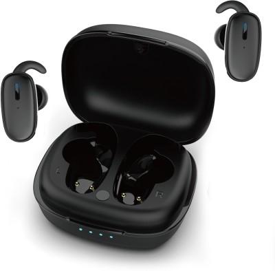 Ambrane Bass Twins True Wireless Bluetooth Headset(Black, True Wireless)