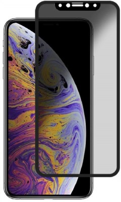 SHRINO Edge To Edge Tempered Glass for Compatible for iPhone 11 Pro Max Tempered Glass Privacy Matte Finish Full Screen Edge to Edge Upgrade Design Scratch Proof Bubble Free Tempered Glass Screen Protector for I Phone 11Pro Max-Black(Pack of 1)