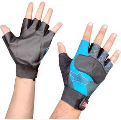 zaysoo Bike Gloves for Riding, Mountain Bike Half Finger Anti slip Gloves Riding Gloves Gym & Fitness Gloves(Black)