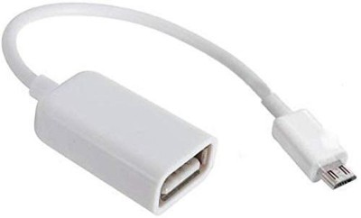 Mokoto Mobile Phone OTG Connect Cable KIT USB Adapter White