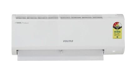 Voltas 0.8 Ton 3 Star Split AC  - White(103 DZX (R32)/103 DZX, Copper Condenser)