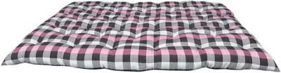 COLOFLY 72x72x4 inch mattress 4 inch Double Cotton Mattress