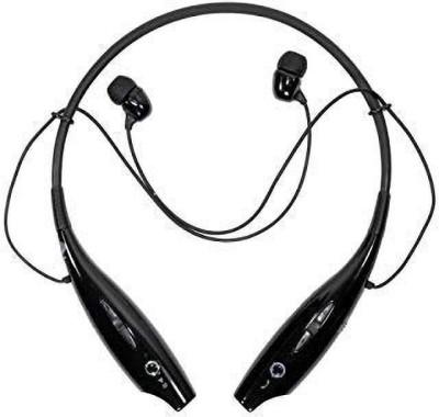 Alpino 730 Sports Bluetooth Neckband with Mic  Extra Bass & HD Sound   Bluetooth Headset(Black, True Wireless)