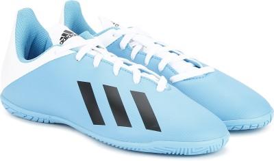 ADIDAS Boys   Girls Lace Football Shoes Blue ADIDAS Sports Shoes