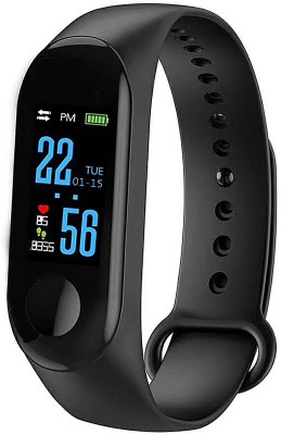 Aldronix M3 Smart Band(Black Strap, Size : Free)