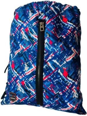 Dejan string backpack A3 14 L Backpack(Blue, Red)