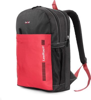 LeeRooy RKBG10RED010 32 L Laptop Backpack Red, Black LeeRooy Backpacks
