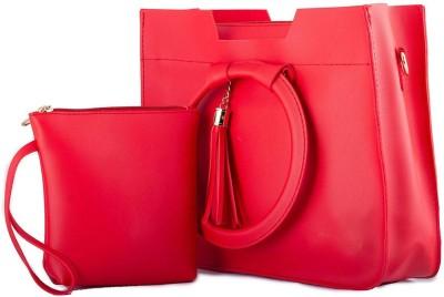 TAP FASHION Women Red Shoulder Bag