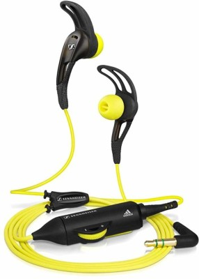 Sennheiser Headphones Wired Headset(Black, Yellow, Wired in the ear)