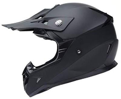 YEMA Motorcycle Motocross ATV Helmet dot Certified - ym-915 Motorbike Moped Full f Motorbike Helmet(Black)