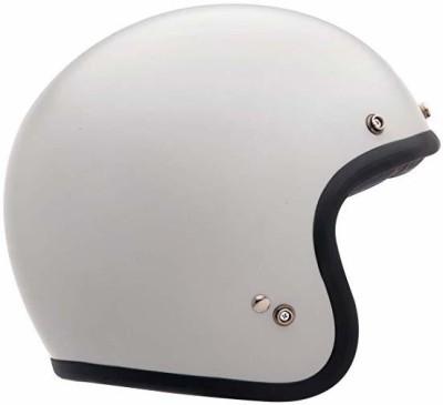 Bell Custom 500 Unisex-Adult Open face Street Helmet (Vintage White, Small) (D.O.T Motorbike Helmet(White)