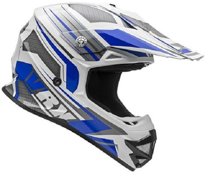 VEGA Helmets VRX Advanced Off Road Motocross Dirt Bike Helmet (Blue Venom Graphic, X-L Motorbike Helmet(Multicolor)