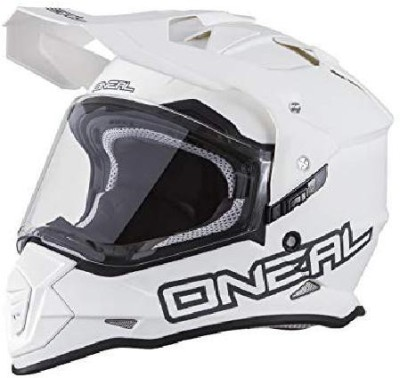 O'Neal Sierra II Mens Full-Face Helmet (White, Small) [CAT_6369] Motorbike Helmet(White)