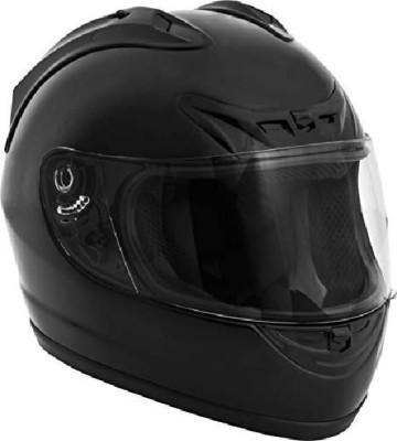 Fuel Helmets SH-FF0017 Full Face Helmet, Gloss Black, X-Large [CAT_6369] Motorbike Helmet(Black)
