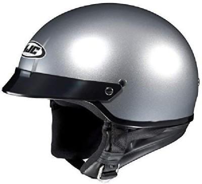 HJC Helmets HJC CS-2N Motorcycle Half-Helmet (Silver -- others - others [CAT_84778] Motorbike Helmet(Silver)