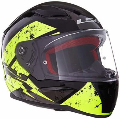 LS2 353-1123 Full Face Motorcycle Helmet (Black, M) -- medium [CAT_6369] Motorbike Helmet(Black)