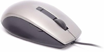 DELL Optical Laser Mouse Wired Optical Gaming Mouse USB 3.0, Grey