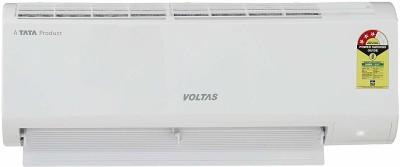 Voltas 1 Ton 3 Star Split AC  - White(123 DZX/123 DZX(R32), Copper Condenser)