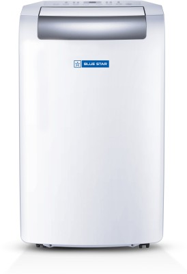 Blue Star 1 Ton Portable AC - White, Grey(PC12DB, Copper Condenser)