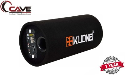 Cave RJ-448 Kuonei 8-Inches 3800W PMPO Bass Tube with 8Inches Inbuilt Amplifier. Subwoofer(Powered , RMS Power: 300 W)