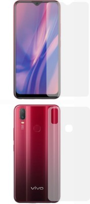 Fashion Way Front and Back Screen Guard for VIVO Y11(2019)(Pack of 2)
