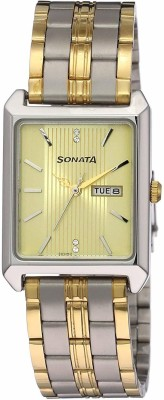 SONATANK7007BM01 Analog Watch   For Men