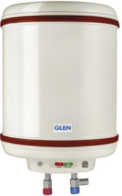GLEN 50 L Storage Water Geyser (7057 Vertical Water Heater 50 Liter Mech, White)