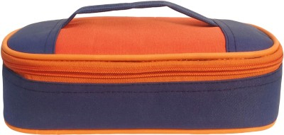Aafeen Office Use Tiffin Bag for Man and Women, School Kids (0302) Waterproof Lunch Bag(Blue, 1 L)