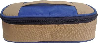 Aafeen Office Use Tiffin Bag for Man and Women, School Kids (0306) Waterproof Lunch Bag(Beige, 1 L)