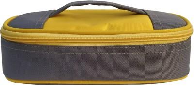 Aafeen Office Use Tiffin Bag for Man and Women, School Kids (0308) Waterproof Lunch Bag(Grey, 1 L)