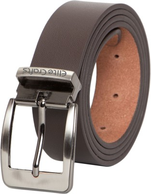 Elite Crafts Men & Women Casual, Party, Formal, Evening Brown Genuine Leather Belt